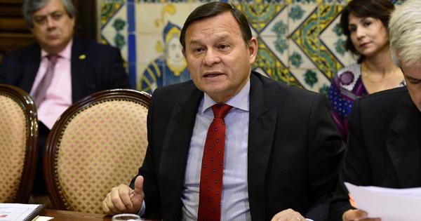 Néstor Popolizio, ministro de Relaciones Exteriores de Perú