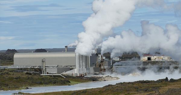 Planta de energía geotérmica