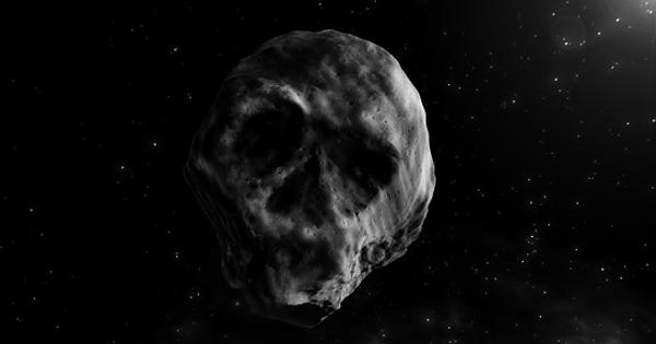 Asteroide de Halloween