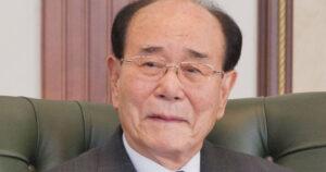 Kim Yong Nam, presidente de la Asamblea Suprema norcoreana