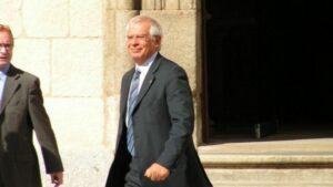 Josep Borrell, ministro de Asuntos Exteriores, Cooperación y UE de España