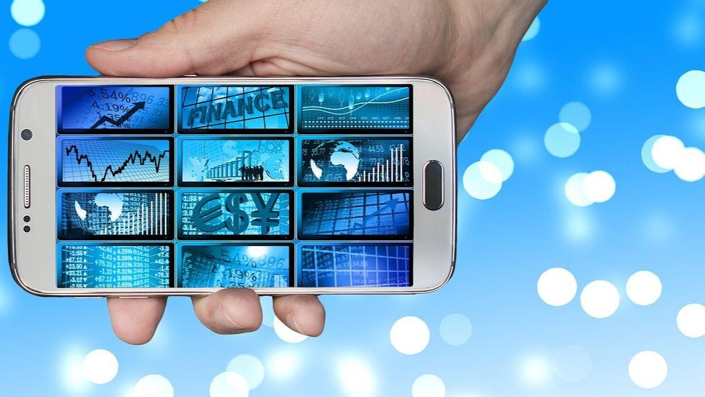 Smartphone Economía