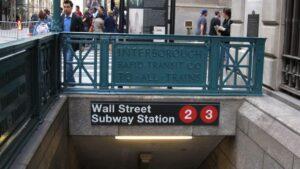 Metro de wall Street