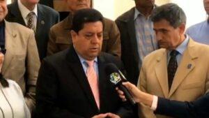 Edgar Zambrano, vicepresidente de la Asamblea Nacional de Venezuela