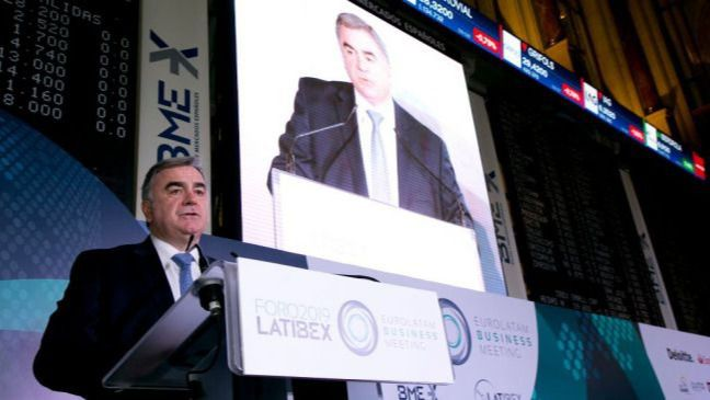 Javier Hernani, consejero delegado de BME