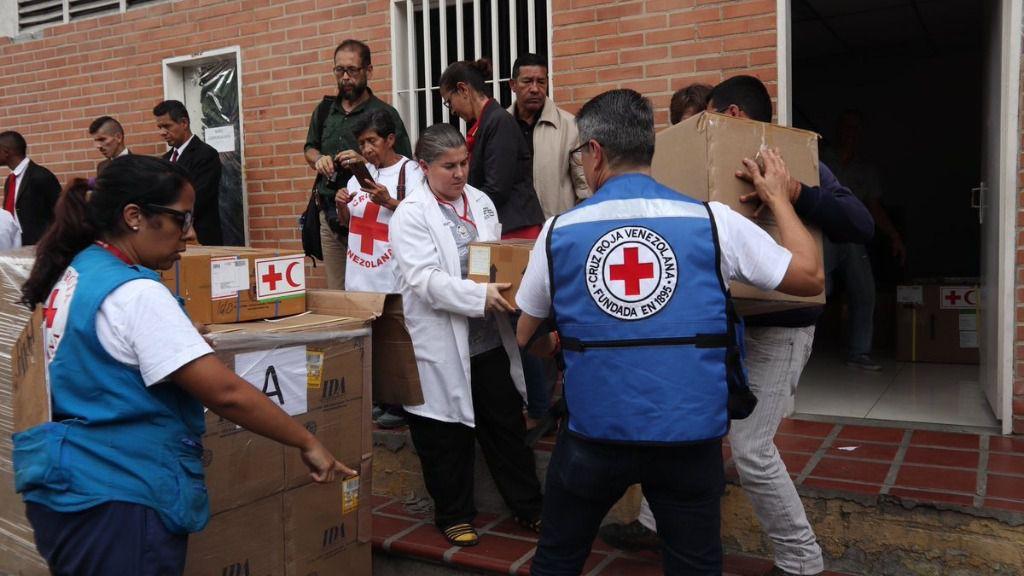 Cruz Roja Venezuela Ayuda humanitaria