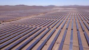 Planta fotovoltaica de Acciona en Chile