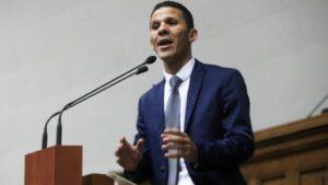 El diputado de la oposición venezolana Gilber Caro