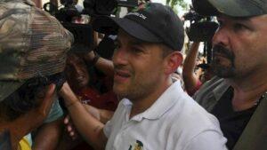 dirigente cívico boliviano Fernando Camacho