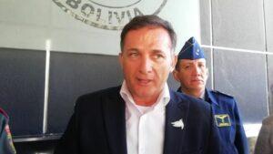 El ministro de Defensa de Bolivia, Luis Fernando López