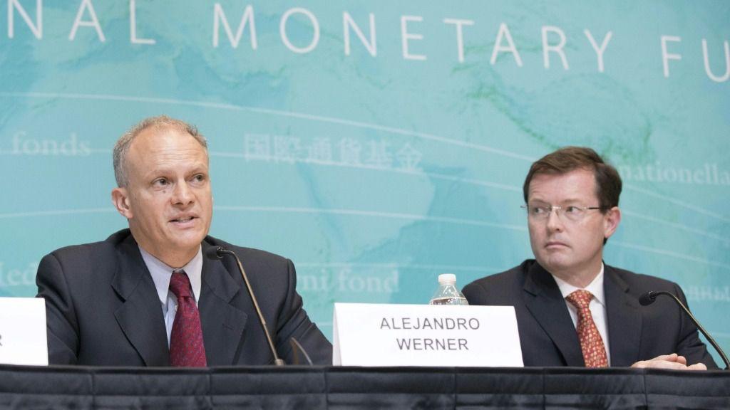 El director del FMI para el Hemisferio Occidental, Alejandro Werner