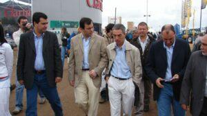 El ministro de Transporte de Argentina, Mario Meoni