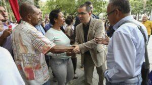 El ministro de Asuntos Exteriores de Venezuela, Jorge Arreaza