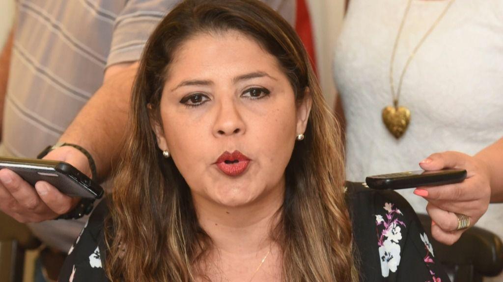 La ministra de Justicia paraguaya, Cecilia Pérez