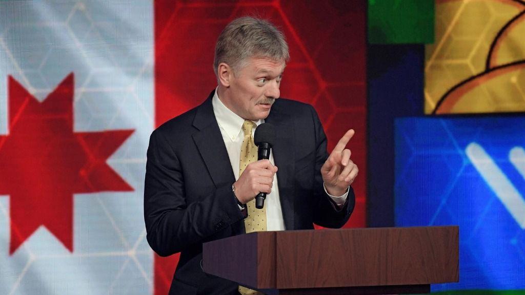 El portavoz de la Presidencia de Rusia, Dimitri Peskov