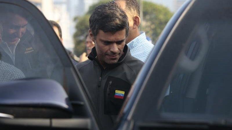 El opositor venezolano Leopoldo López