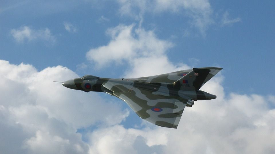 Avión Militar británico