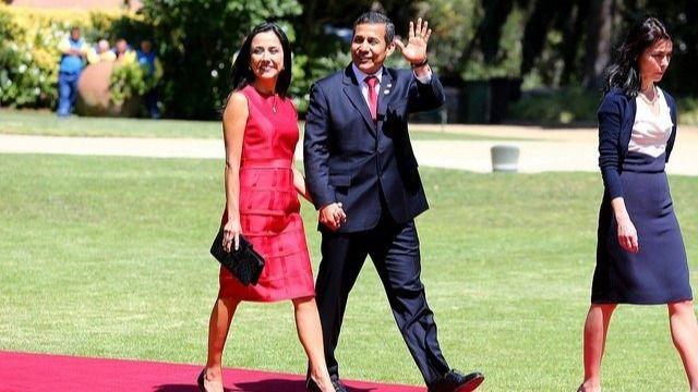 Ollanta Humala y Nadine Heredia