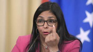 vicepresidenta ejecutiva de Venezuela, Delcy Rodríguez