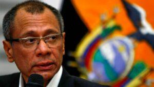 El exvicepresidente ecuatoriano Jorge Glas