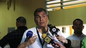El expresidente ecuatoriano Rafael Correa