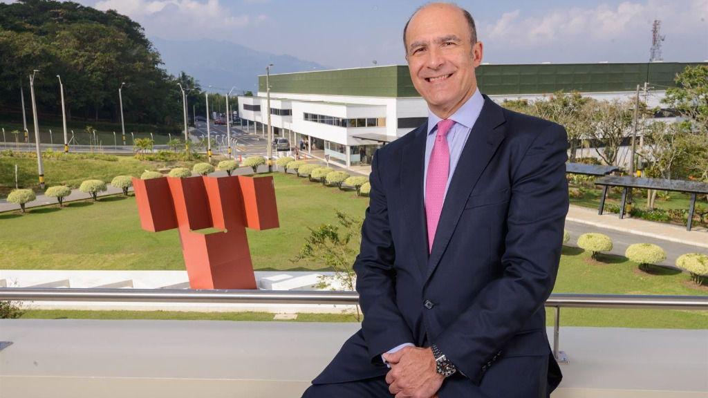 Bernardo Vargas Gibsone, presidente del grupo ISA