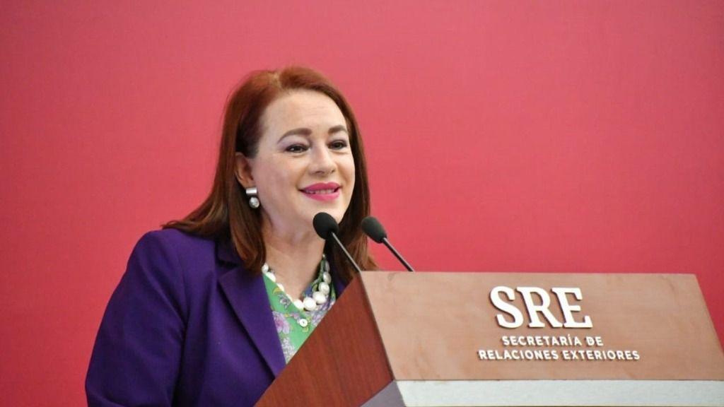 La expresidenta de la Asamblea General de la Organización de Naciones Unidas (2018-2019) María Fernanda Espinosa