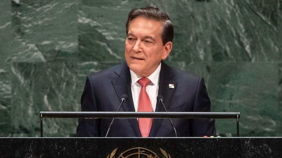 El presidente de Panamá, Laurentino Cortizo