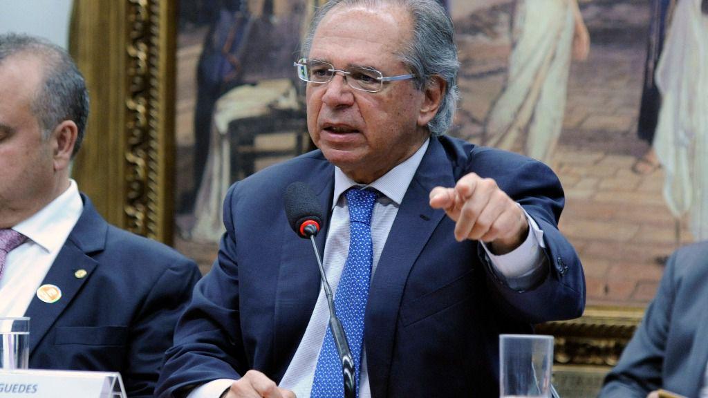 Paulo Guedes, ministro de Economía de Brasil