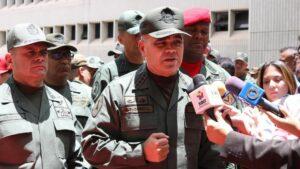 El ministro de Defensa de Venezuela, Vladimir Padrino