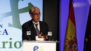 El presidente de la Fundación Euroamérica, Ramón Jáuregui