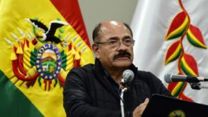 El ex ministro de Salud de Bolivia Aníbal Cruz