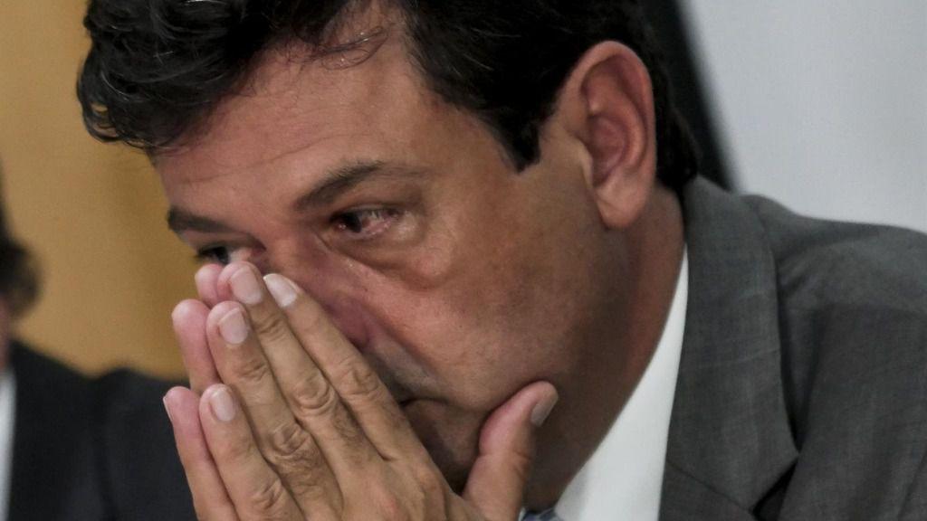 El ministro de Salud de Brasil, Luiz Henrique Mandetta