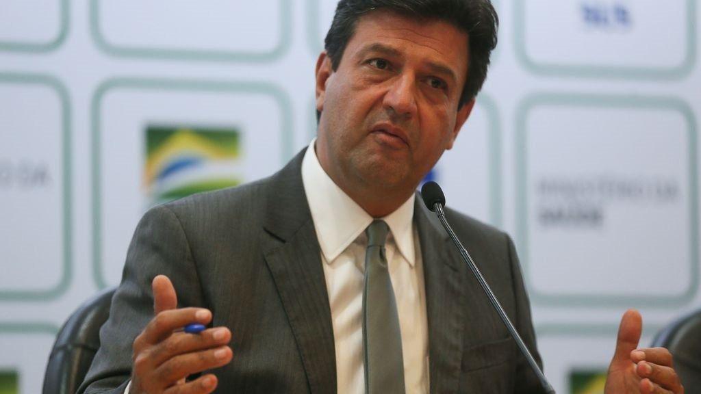 El que fuera el ministro de Sanidad brasileño, Luiz Henrique Mandetta