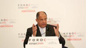 El ex presidente de Costa Rica Luis Guillermo Solís