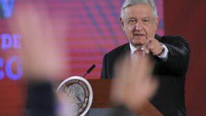 El presidente de México, Andrés Manuel López Obrador