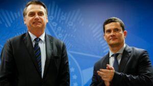 Jair Bolsonaro y Sergio Moro