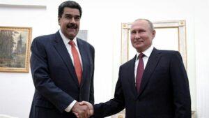 Los presidentes de Venezuela, Nicolás Maduro, y Rusia, Vladimir Putin