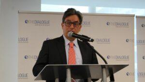 El ministro de Hacienda y Crédito Público de Colombia, Alberto Carrasquilla