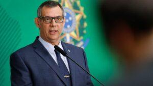 El portavoz de la Presidencia de Brasil, el general Otávio Rego Barros