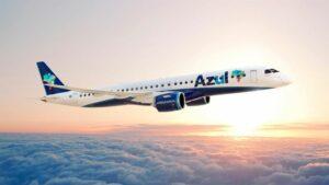 Avión Azul Embraer
