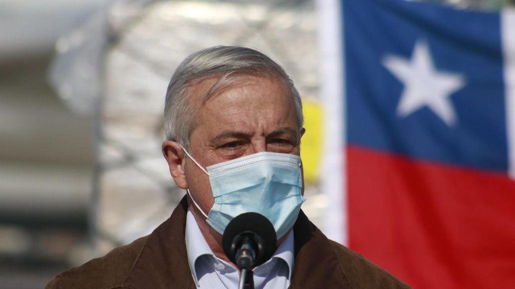 El ministro de Salud de Chile, Jaime Mañalich