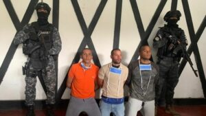 Militares detenidos en el marco de la 'Operación Gedeón', una trama golpista contra Nicolás Maduro