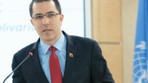 El ministro de Relaciones Exteriores de Venezuela, Jorge Arreaza