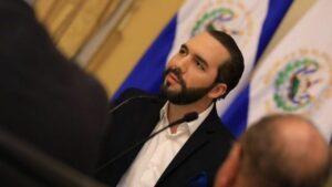 Nayib Bukele, presidente de El Salvador