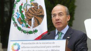 El ex presidente mexicano Felipe Calderón