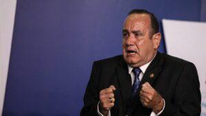 El presidente electo de Guatemala, Alejandro Giammattei