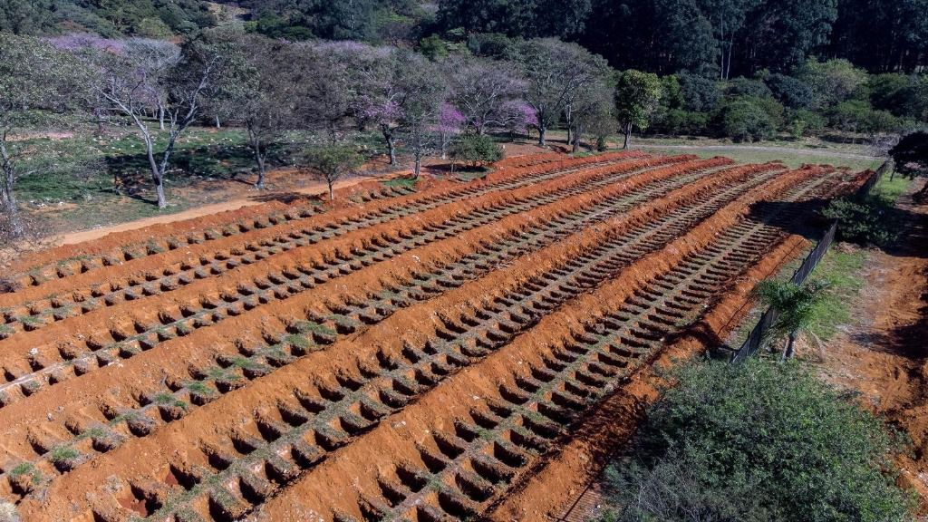 Cementerio de Vila Formosa, en Sao Paulo