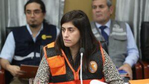La ministra de Economía y Finanzas de Perú, María Antonieta Alva