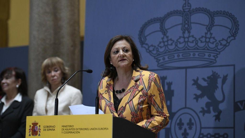 La secretaria de Estado de Asuntos Exteriores y para Iberoamérica y el Caribe de España, Cristina Gallach